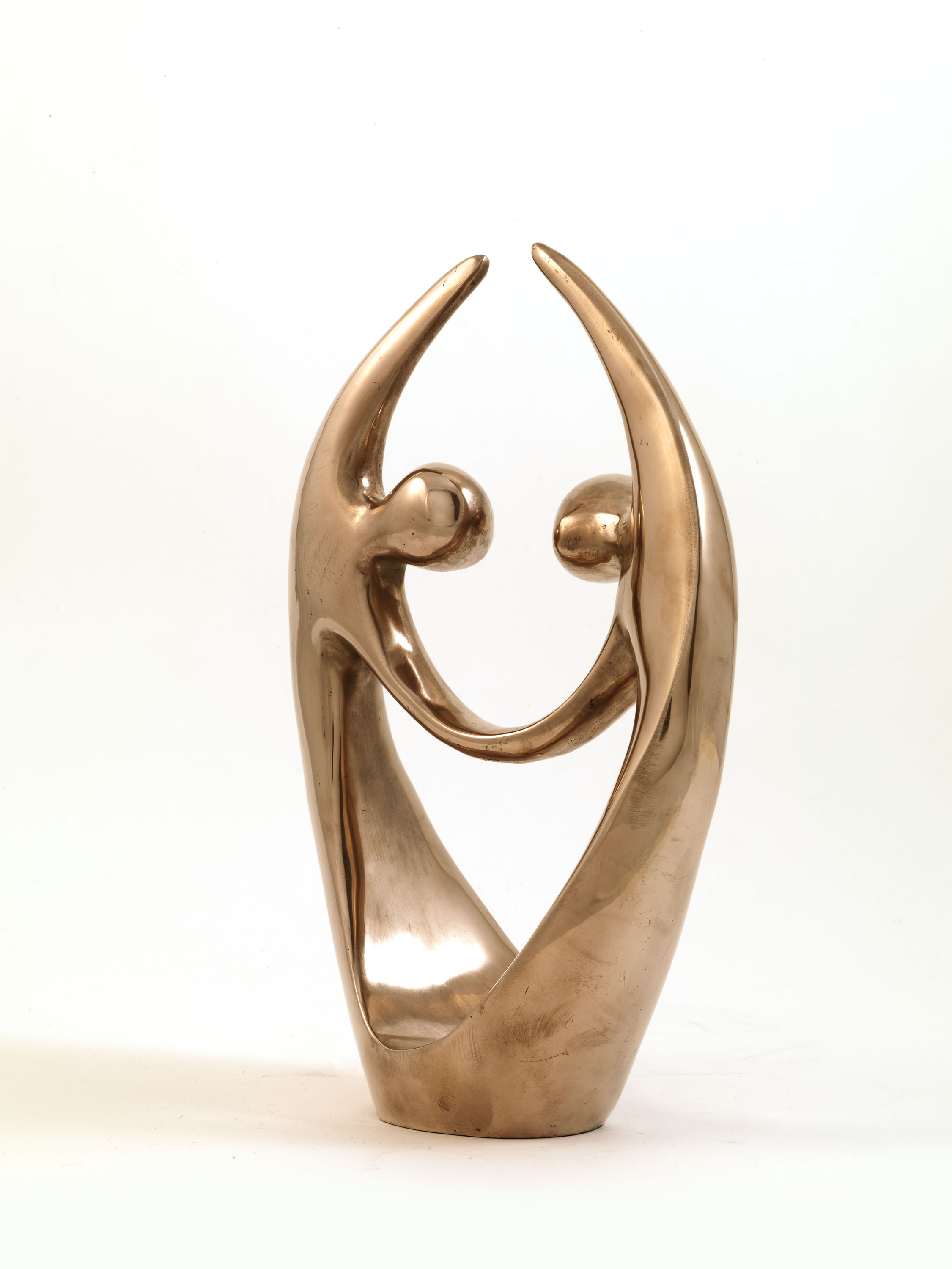 The Dancers (Bronze) by Julia Godsiff