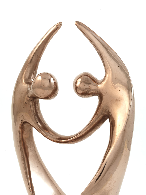 The Dancers (Bronze) by Julia Godsiff