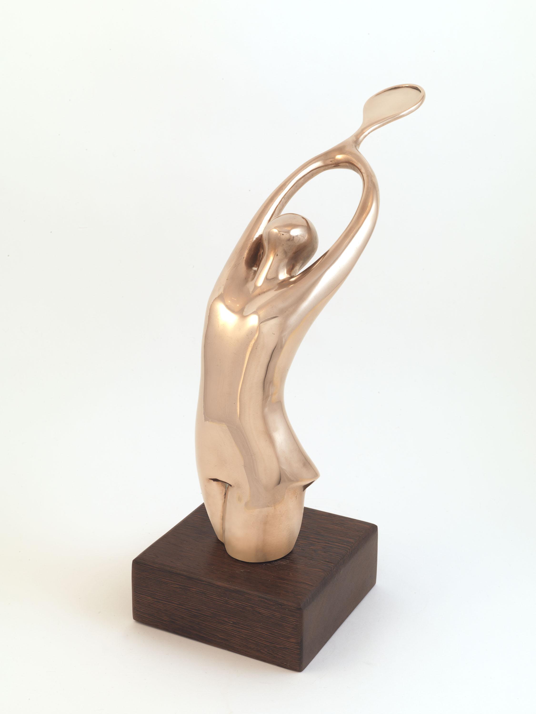 The Slam (Bronze) by Julia Godsiff