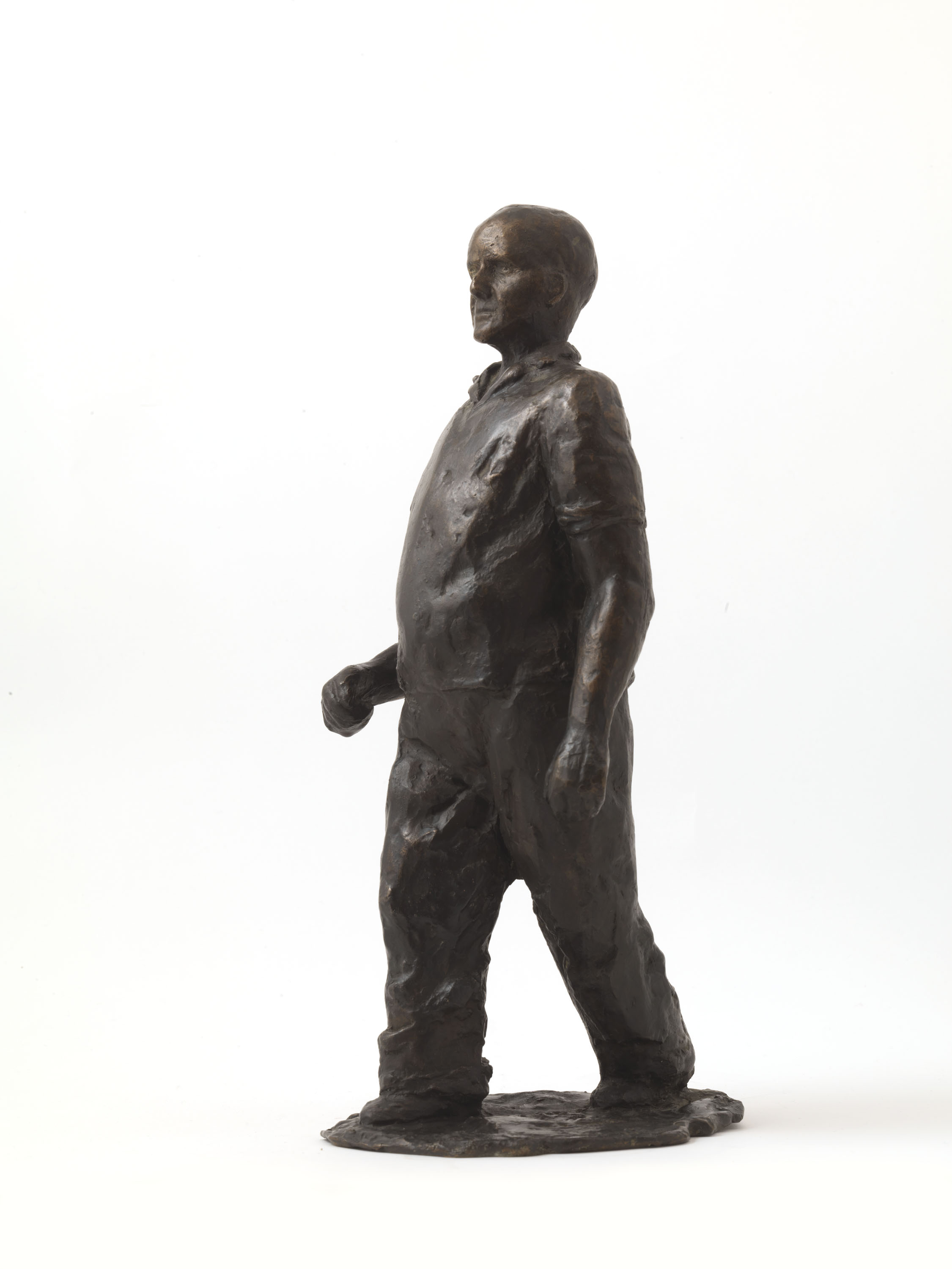 George Godsiff (Bronze) by Julia Godsiff