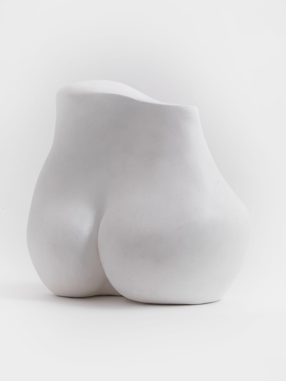 Torso (Plaster) by Julia Godsiff
