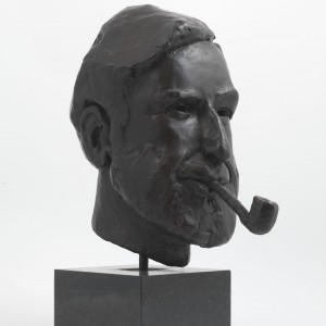 John Bramley Portrait (Bronze) by Julia Godsiff