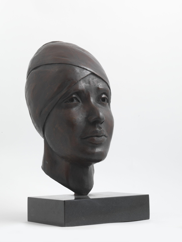 Winnie Mandela (Bronze) by Julia Godsiff