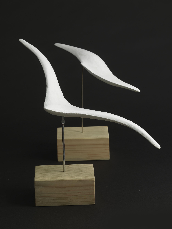 Flight (Plaster) by Julia Godsiff