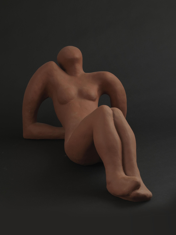 The Sunbather (Resin) by Julia Godsiff