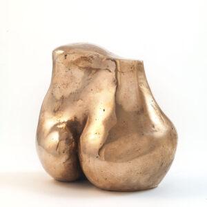Torso (Bronze) by Julia Godsiff