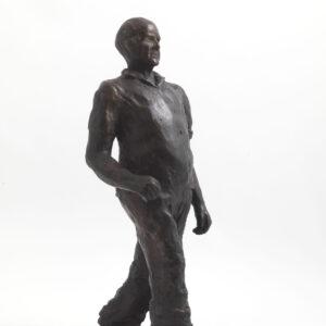George Godsiff (Bronze) by Julia Godsiff