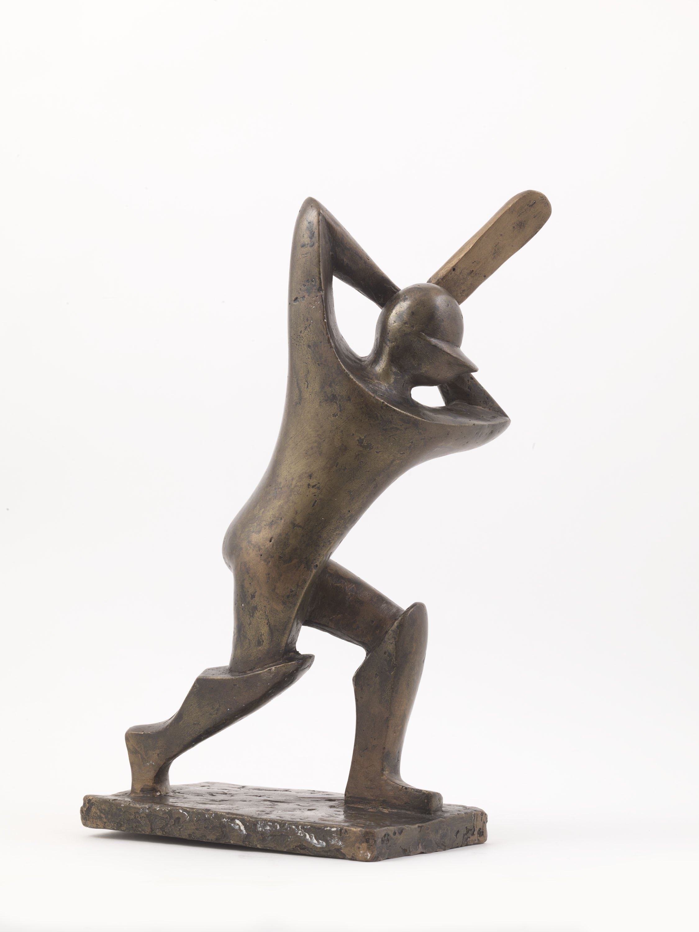Cricket Player (Bronze) by Julia Godsiff